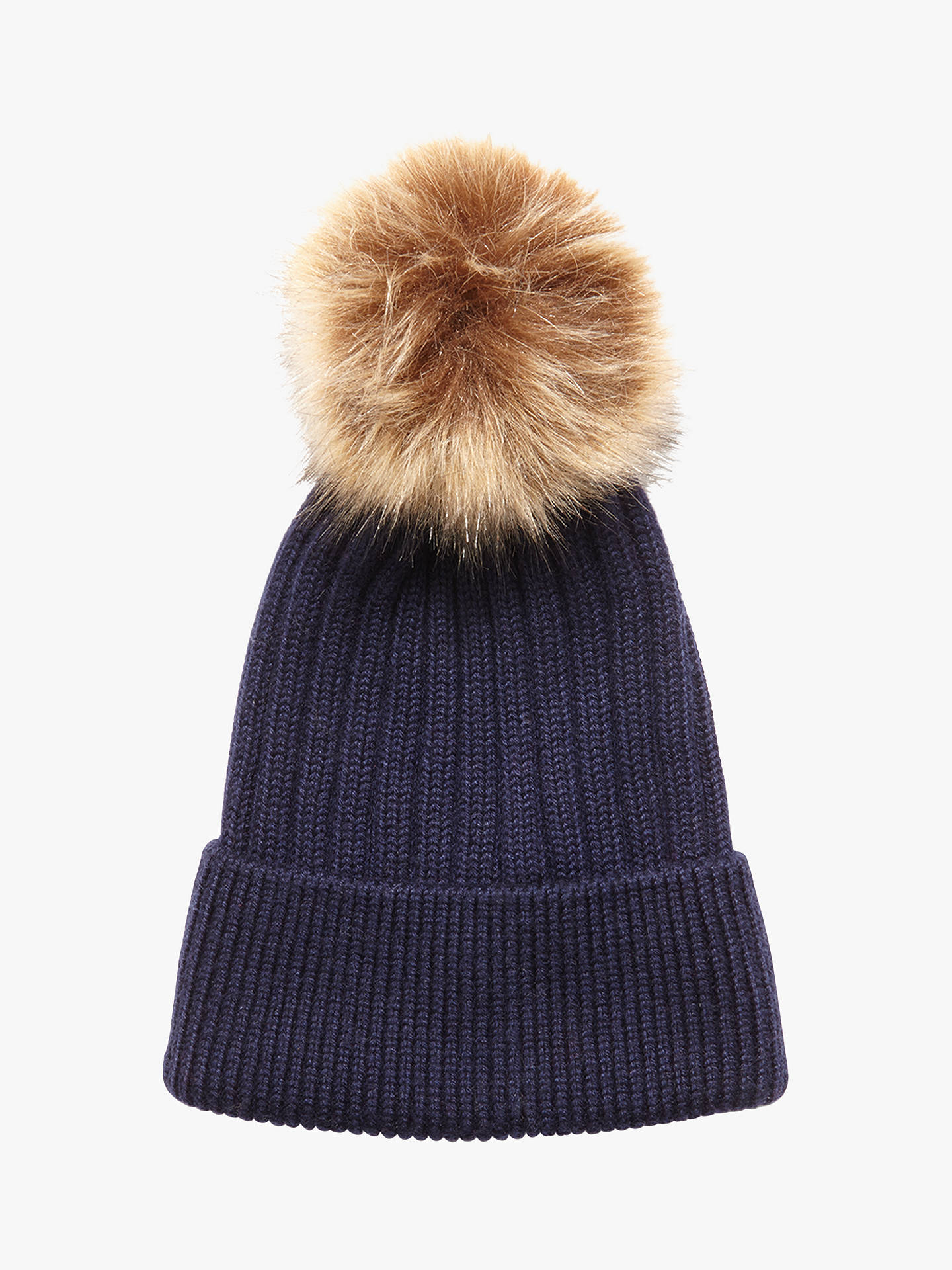 cdbdad854fc Phase Eight Tori Pom Pom Beanie Hat at John Lewis   Partners