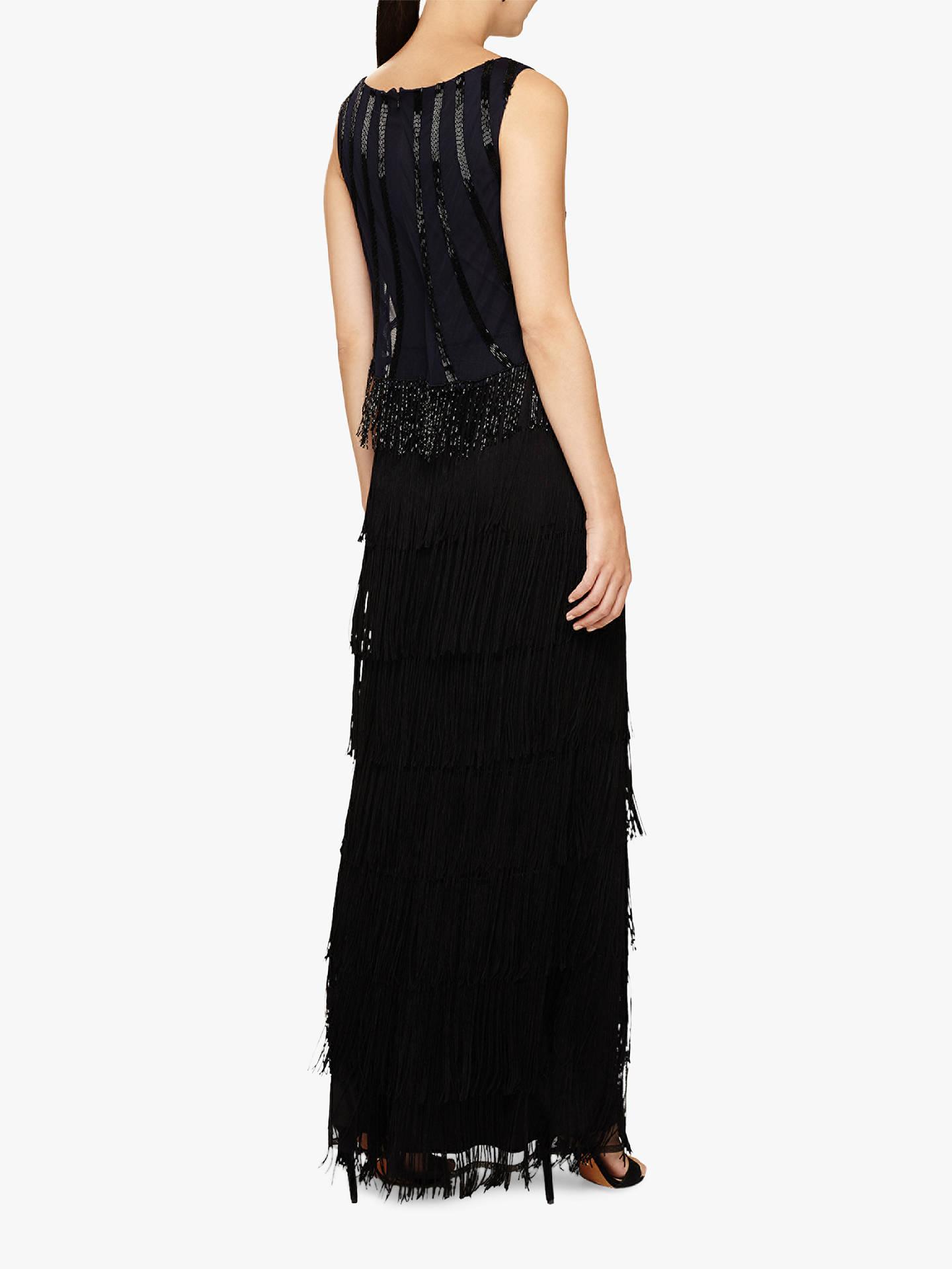 6a27ea0d193 ... Buy Phase Eight Viola Fringe Embellished Maxi Dress