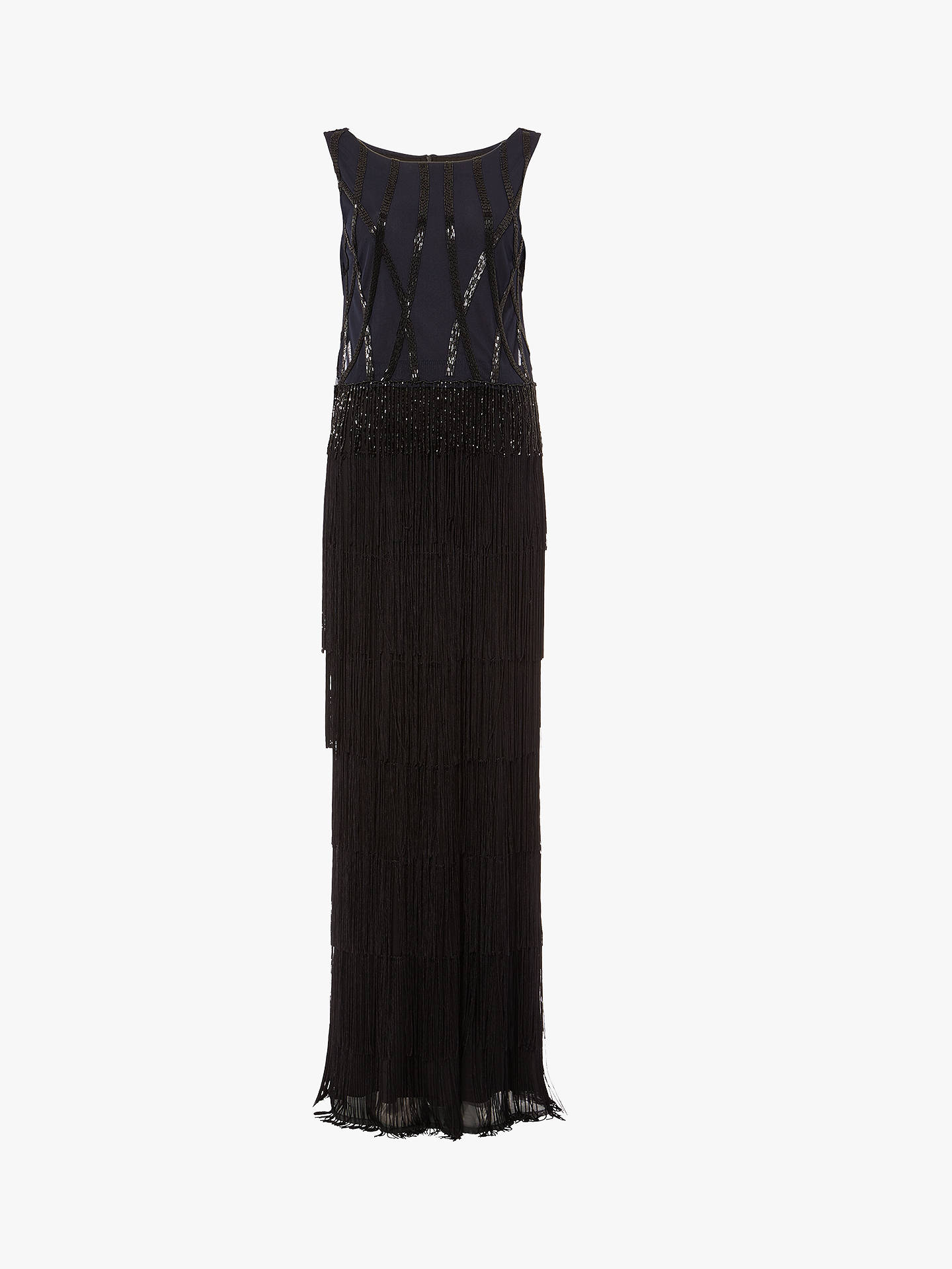 29ede43babe ... Buy Phase Eight Viola Fringe Embellished Maxi Dress