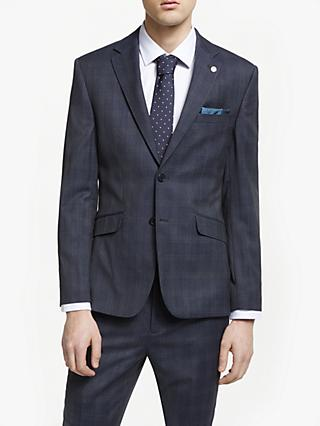 7235c9858ffa5d Ted Baker Avo Check Tailored Suit Jacket