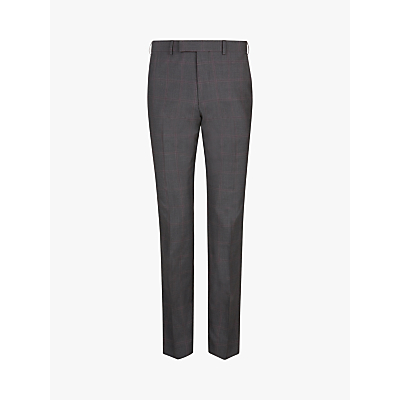 Ted Baker Vikon Check Tailored Suit Trousers, Grey
