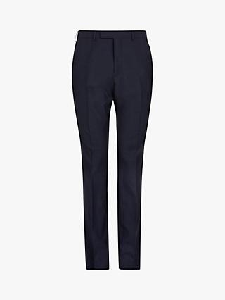 Ted Baker Wovin Tailored Suit Trousers, Blue