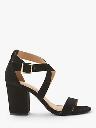 0b7da437803 John Lewis   Partners Demi Cross Strap Block Heel Sandals