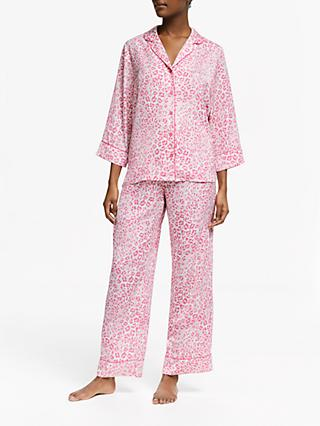 3576087bd3 John Lewis   Partners Ella Animal Print Satin Pyjamas