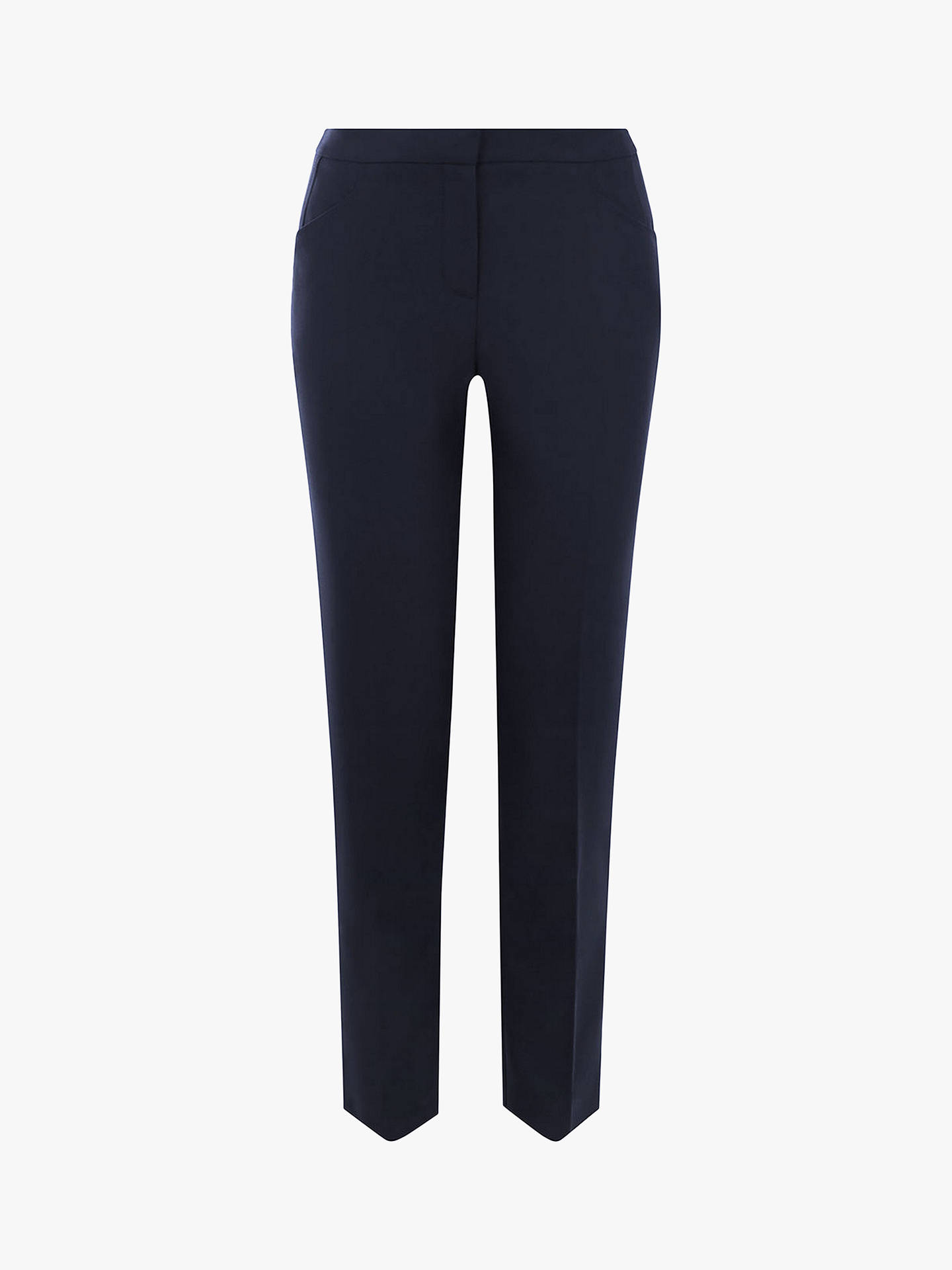 BuyOasis Workwear Trousers, Navy, 6 Online at johnlewis.com