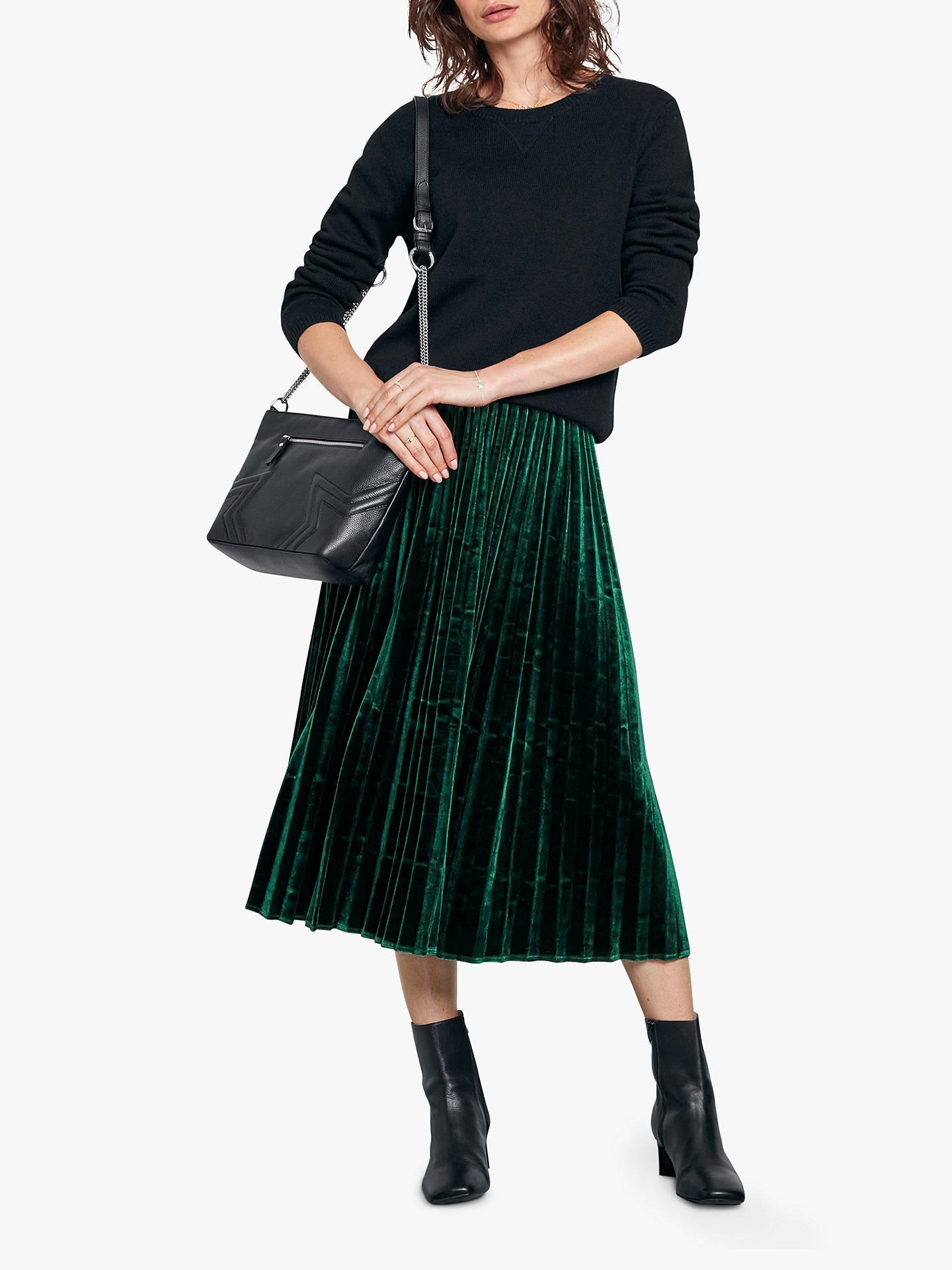 58b10ca610 Buy hush Esme Velour Skirt, Botanical, 6 Online at johnlewis.com ...