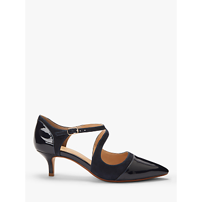 John Lewis & Partners Adalina Cross Over Strap Court Shoes