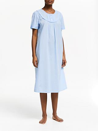b616e942bf John Lewis   Partners Pilli Short Sleeve Cotton Nightdress