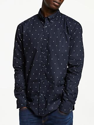 Scotch & Soda Allover Print Oxford Shirt