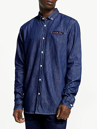 Scotch & Soda Denim Shirt, Indigo
