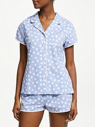 John Lewis   Partners Harper Cotton Jersey Pyjama Set 70d9f4735