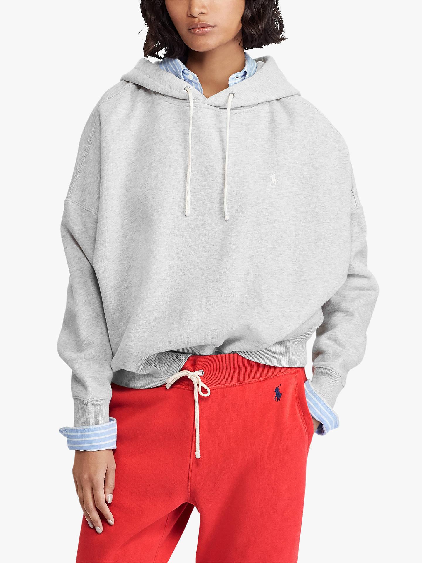 61aedc22d Buy Polo Ralph Lauren Fleece Back Drawcord Hoodie
