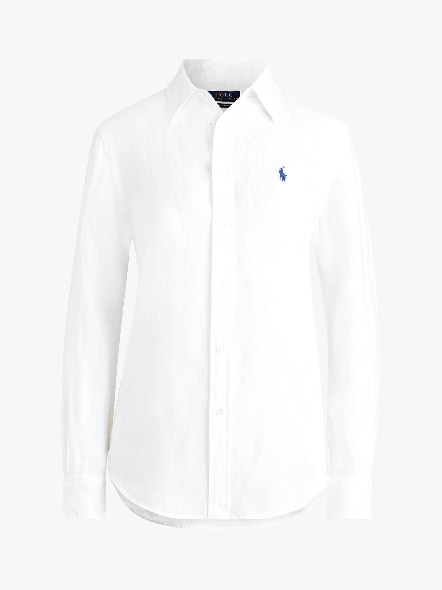 9cc5bb7065f7 Polo Ralph Lauren Relaxed Linen Shirt at John Lewis   Partners