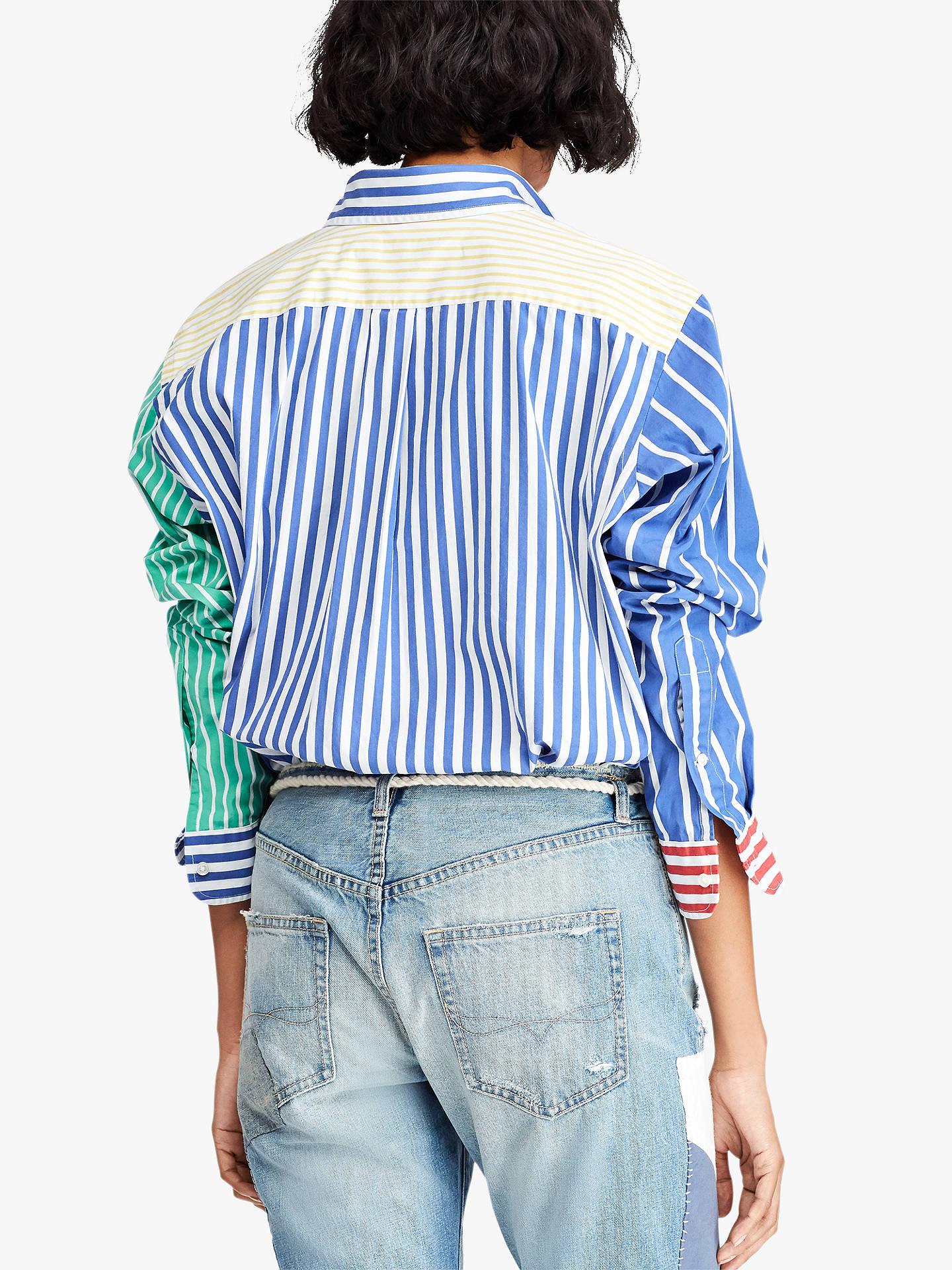 Stripe ShirtAt Polo Lauren Long Sleeve Ralph Multi John WDeH9E2IY
