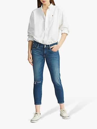 cfa2431a6132 Polo Ralph Lauren Tompkins Cropped Skinny Jeans