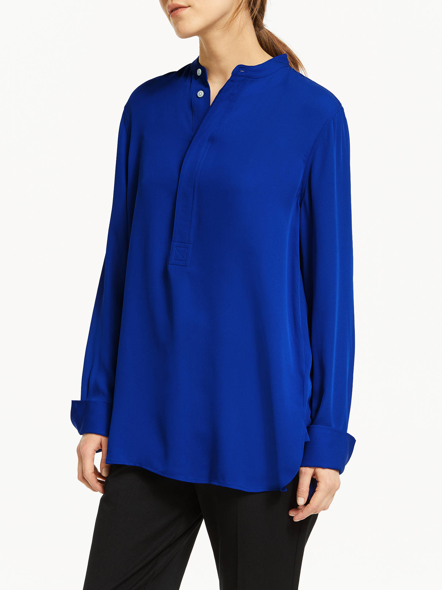 28673c9fcf0 Polo Ralph Lauren Desra Silk Shirt at John Lewis   Partners