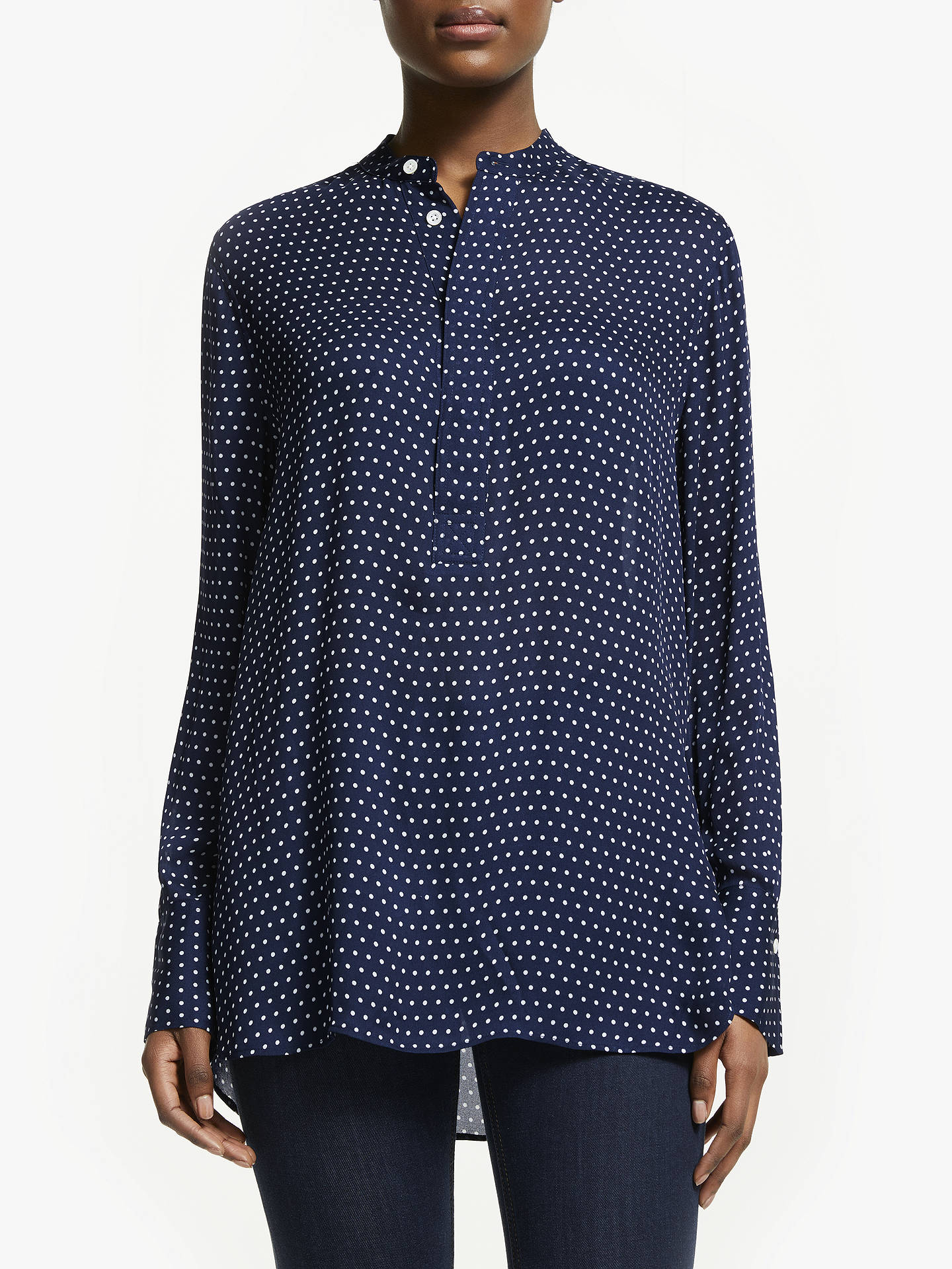 4dbe647f69051 Buy Polo Ralph Lauren Desra Polka Dot Silk Shirt