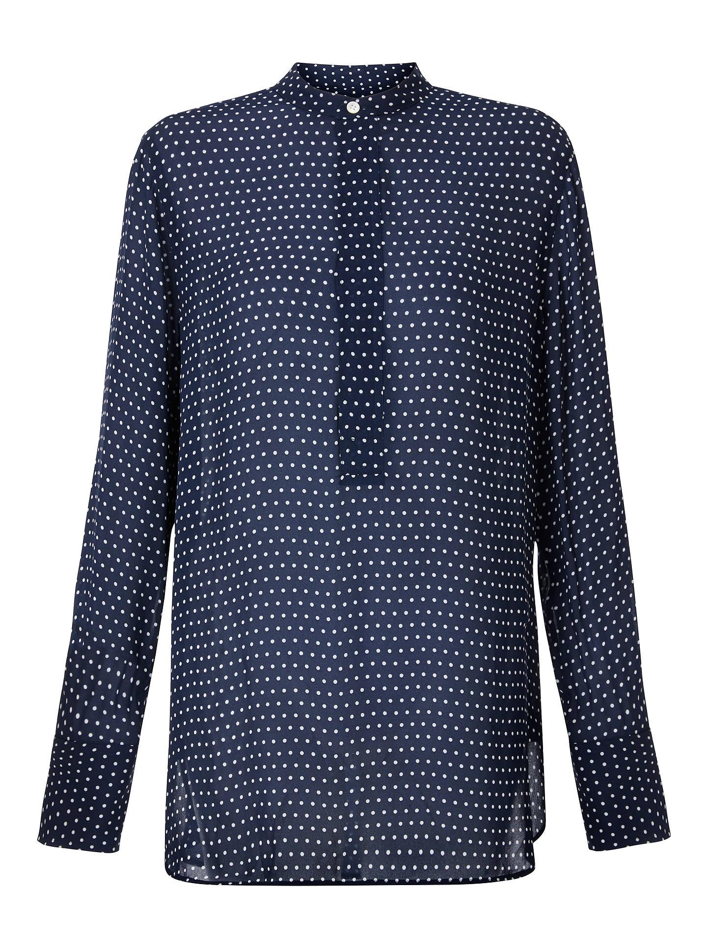 32b2d22ff1c BuyPolo Ralph Lauren Desra Polka Dot Silk Shirt