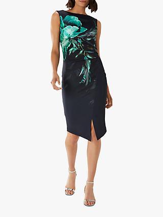 b99abdcab8d Coast Dawn Floral Print Scuba Dress