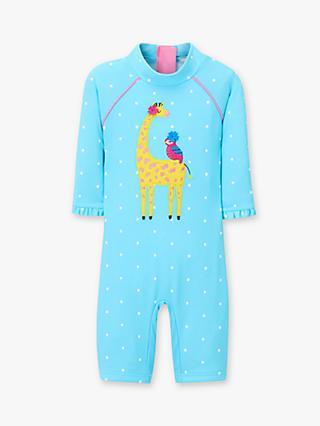 John Lewis   Partners Baby Giraffe Spot SunPro Swimsuit 97a1312a91e1