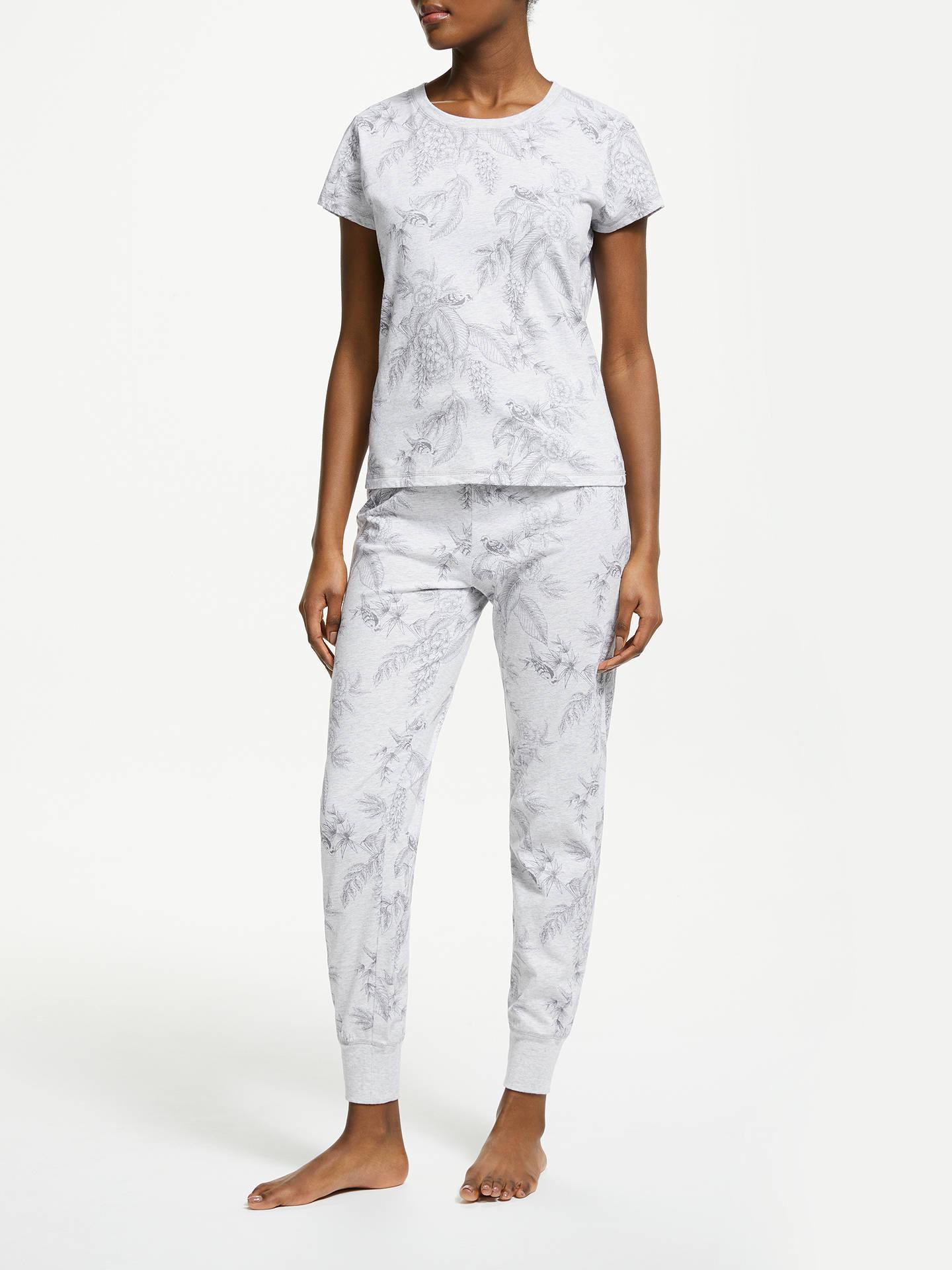BuyJohn Lewis   Partners Adina Floral Print Cotton Pyjama Set 5065943f4