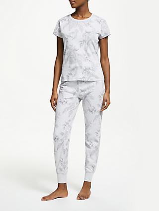 acb0284d54 John Lewis   Partners Adina Floral Print Cotton Pyjama Set