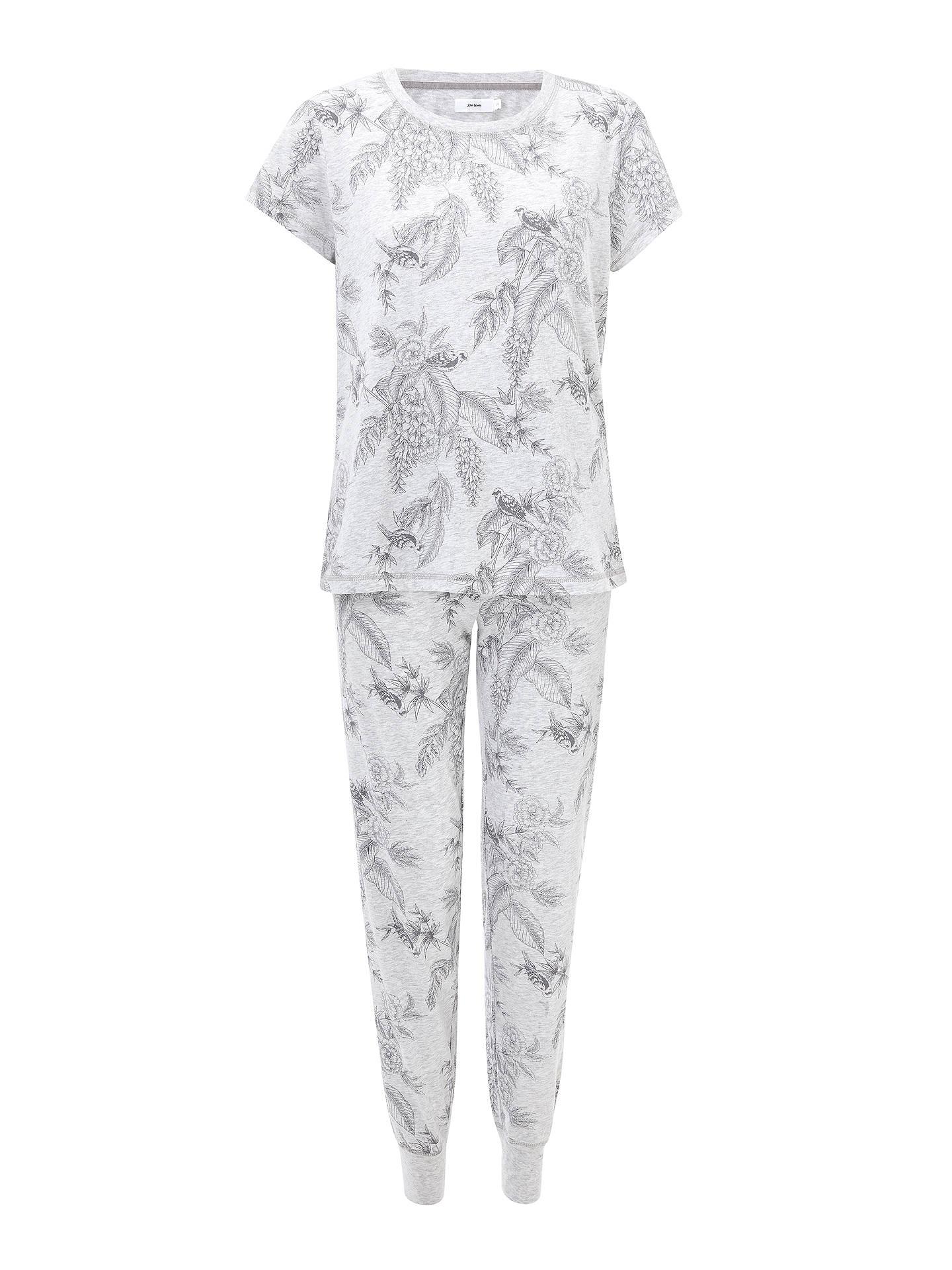 ... BuyJohn Lewis   Partners Adina Floral Print Cotton Pyjama Set 95b437681