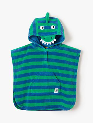 7fcd74164a John Lewis   Partners Baby Dinosaur Stripe Poncho