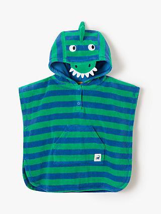 John Lewis   Partners Baby Dinosaur Stripe Poncho 0947c6b8b508