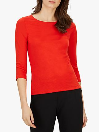 Jaeger Essential Jersey Top, Red
