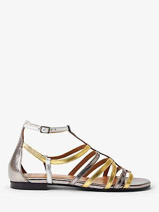 AND/OR Lucia Leather Sandals, Multi