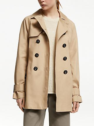 John Lewis & Partners Short Trench Mac