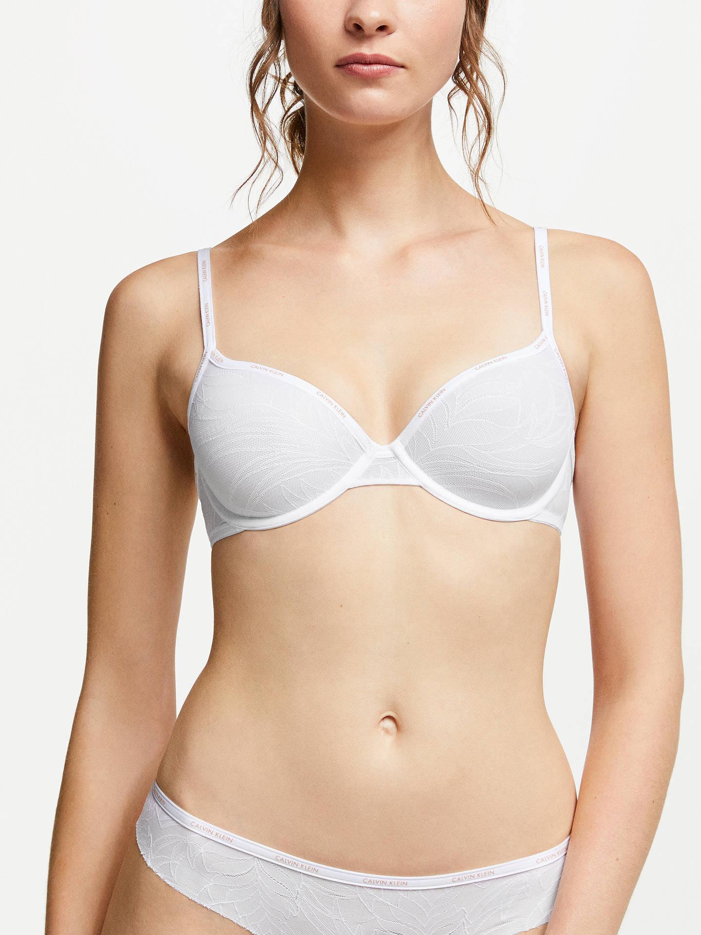 6ff838c031 Buy Calvin Klein Sheer Marquisette Demi Bra