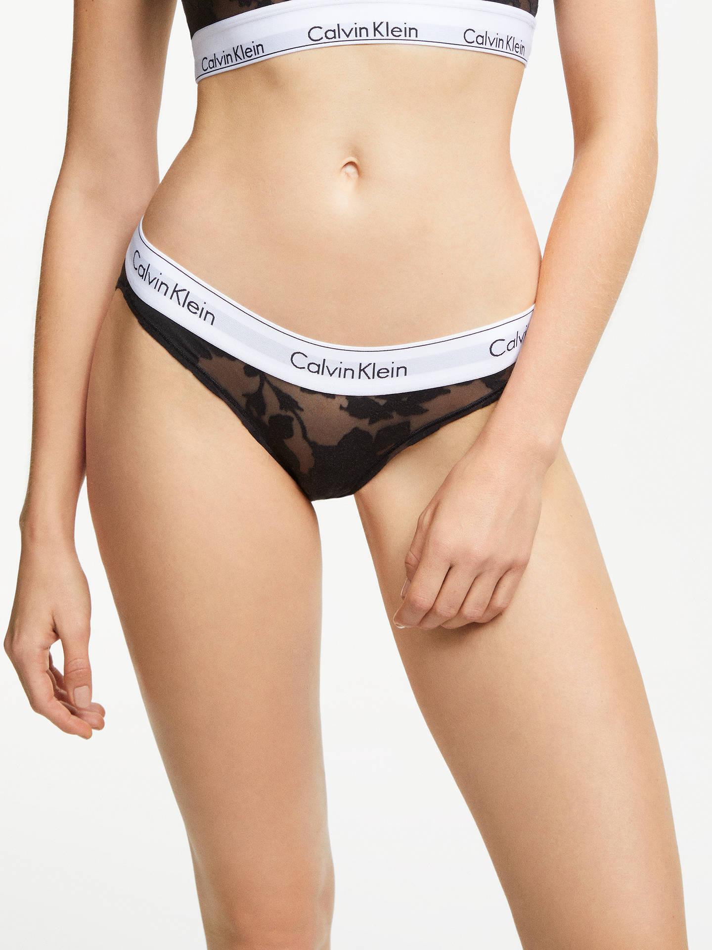 b8c51076fb2 Buy Calvin Klein Underwear Modern Cotton Floral Bikini Briefs