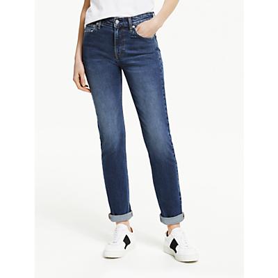 Calvin Klein Jeans Mid Rise Slim Jeans, Broom Blue