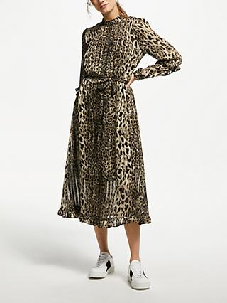 Y.A.S Yasamaze Animal Print Dress, Leopard