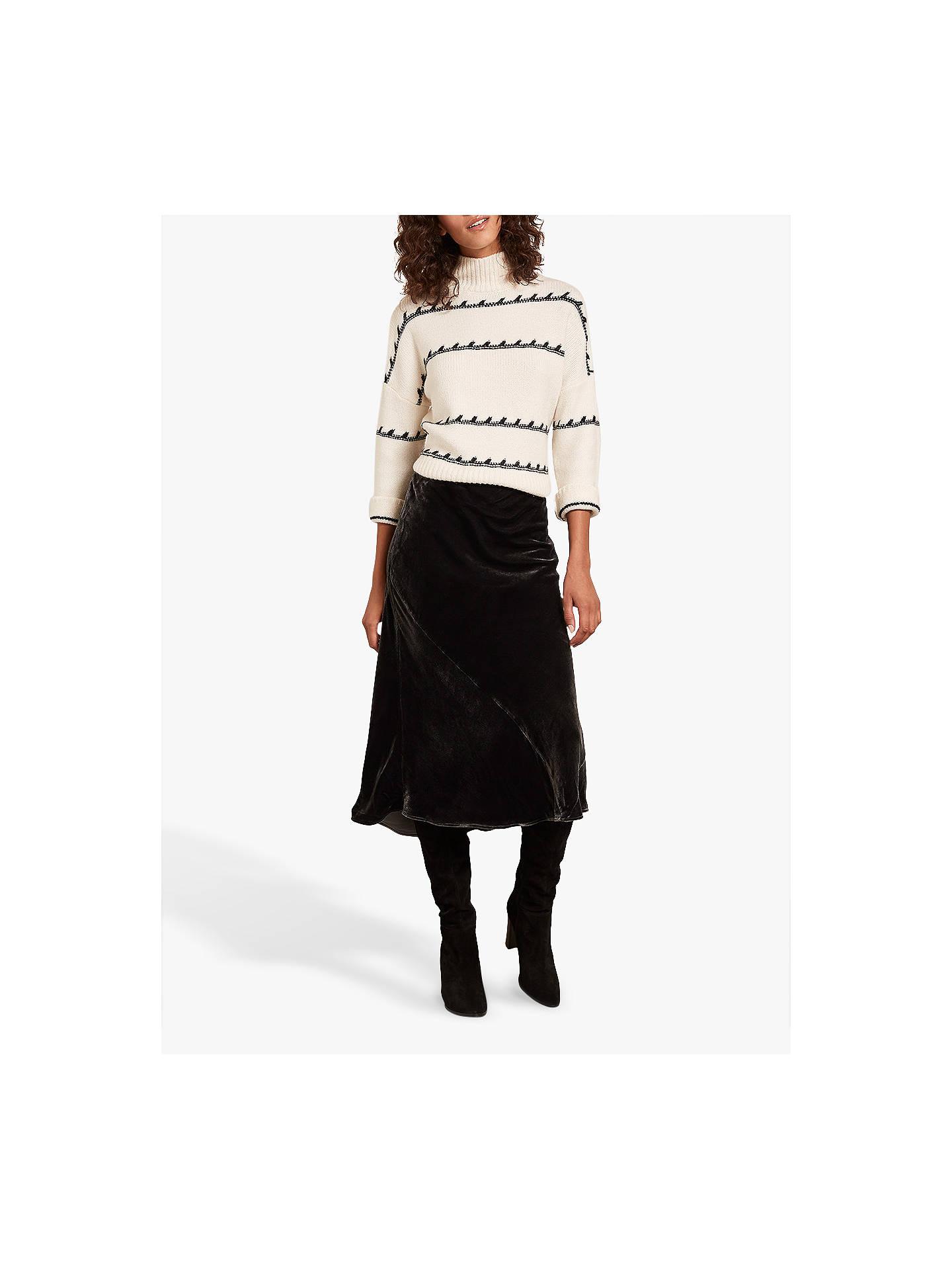 8ad797befc Buy Mint Velvet High-Waisted Velvet Skirt