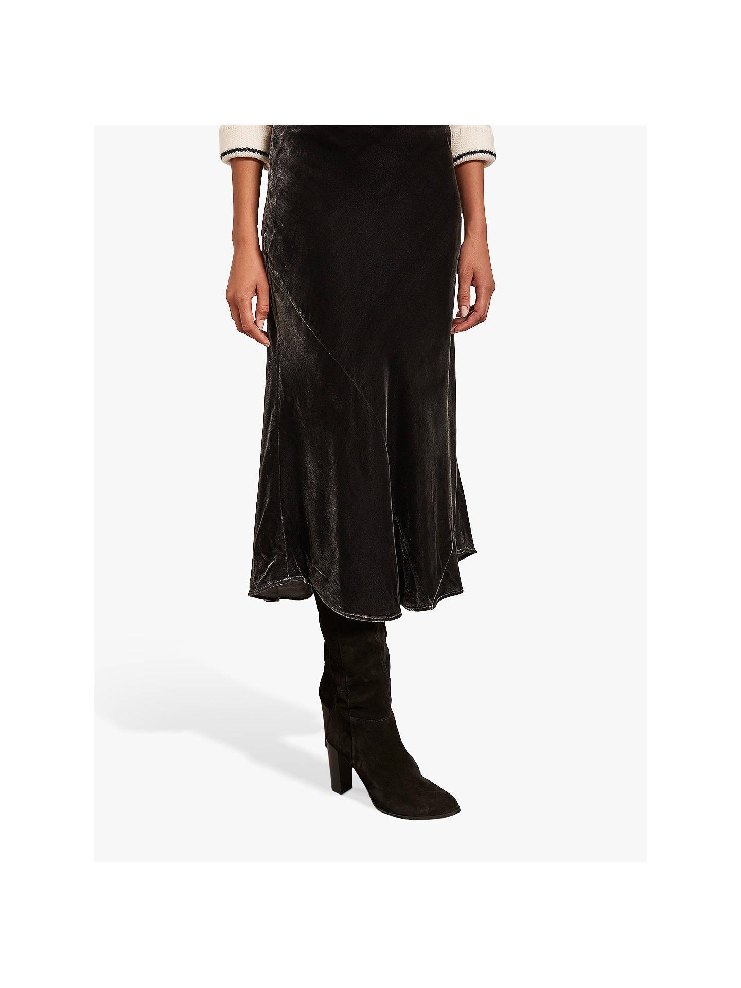 fa26866238 ... Buy Mint Velvet High-Waisted Velvet Skirt