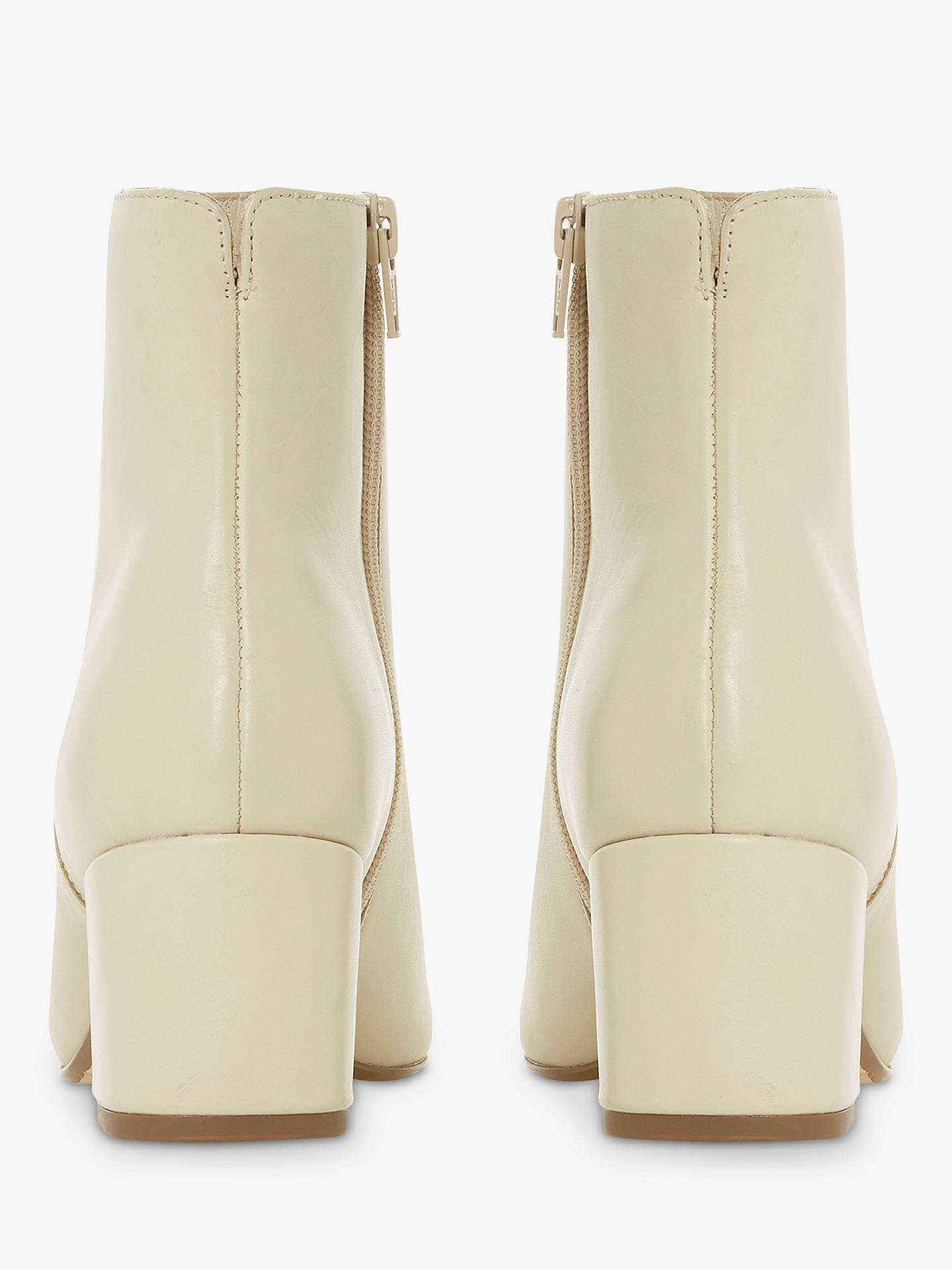 Cream Leather Boots | Shop the world's