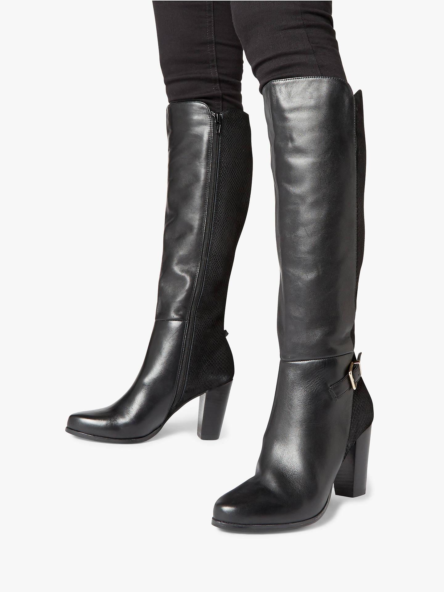 Block heel knee high Boots for Women