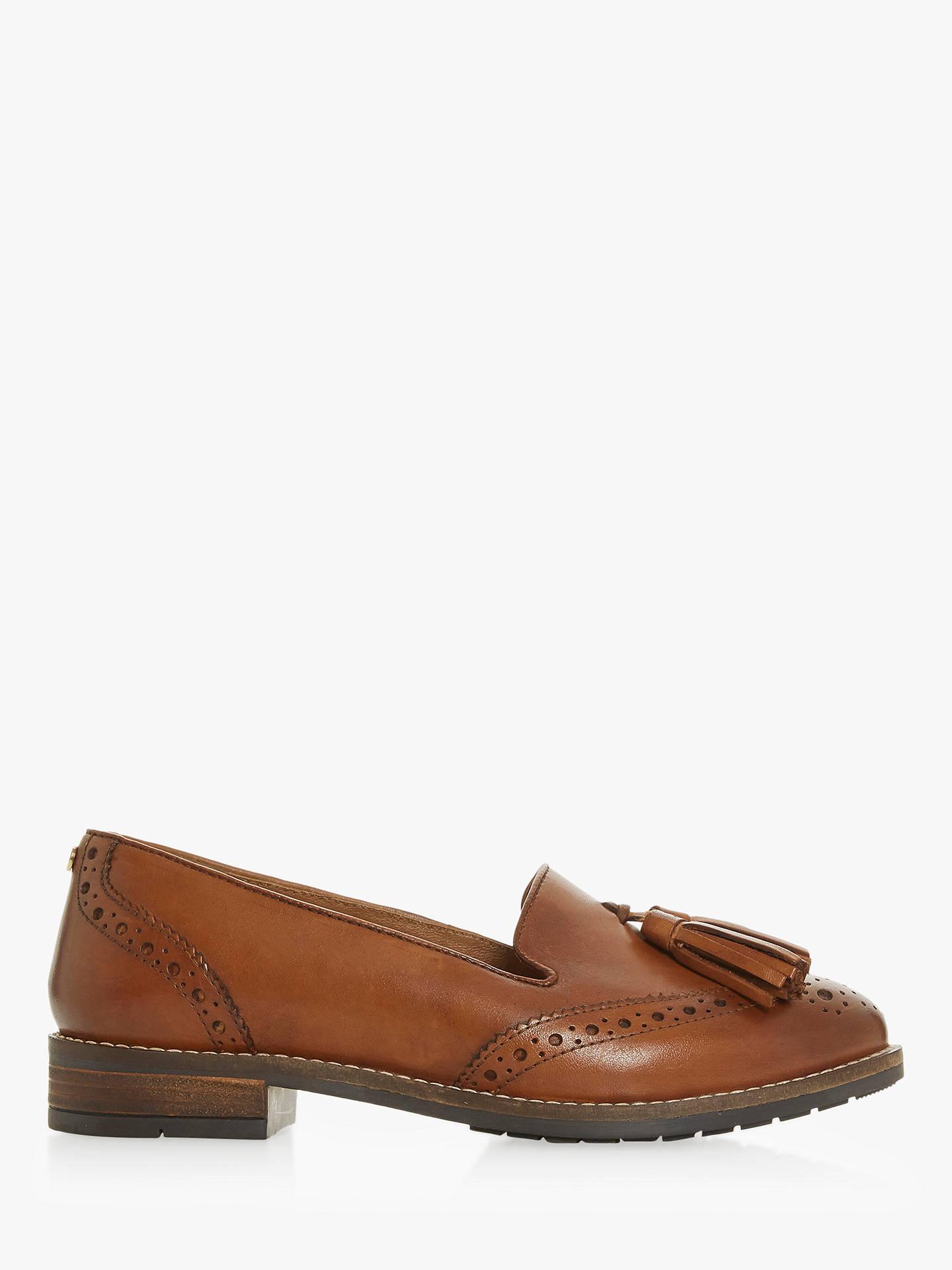 e2003532892 Buy Dune Wide Fit Gillian Tassel Brogue Loafers