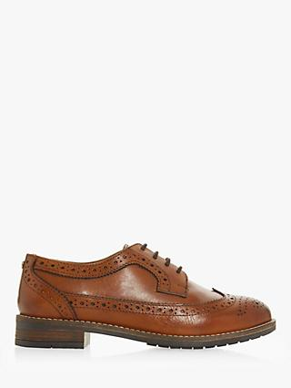Dune Felixe Wide Fit Lace Up Brogues