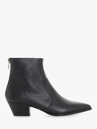 Buy Steve Madden Cafe SM Ankle Boots, Black Leather, 5 Online at johnlewis.com