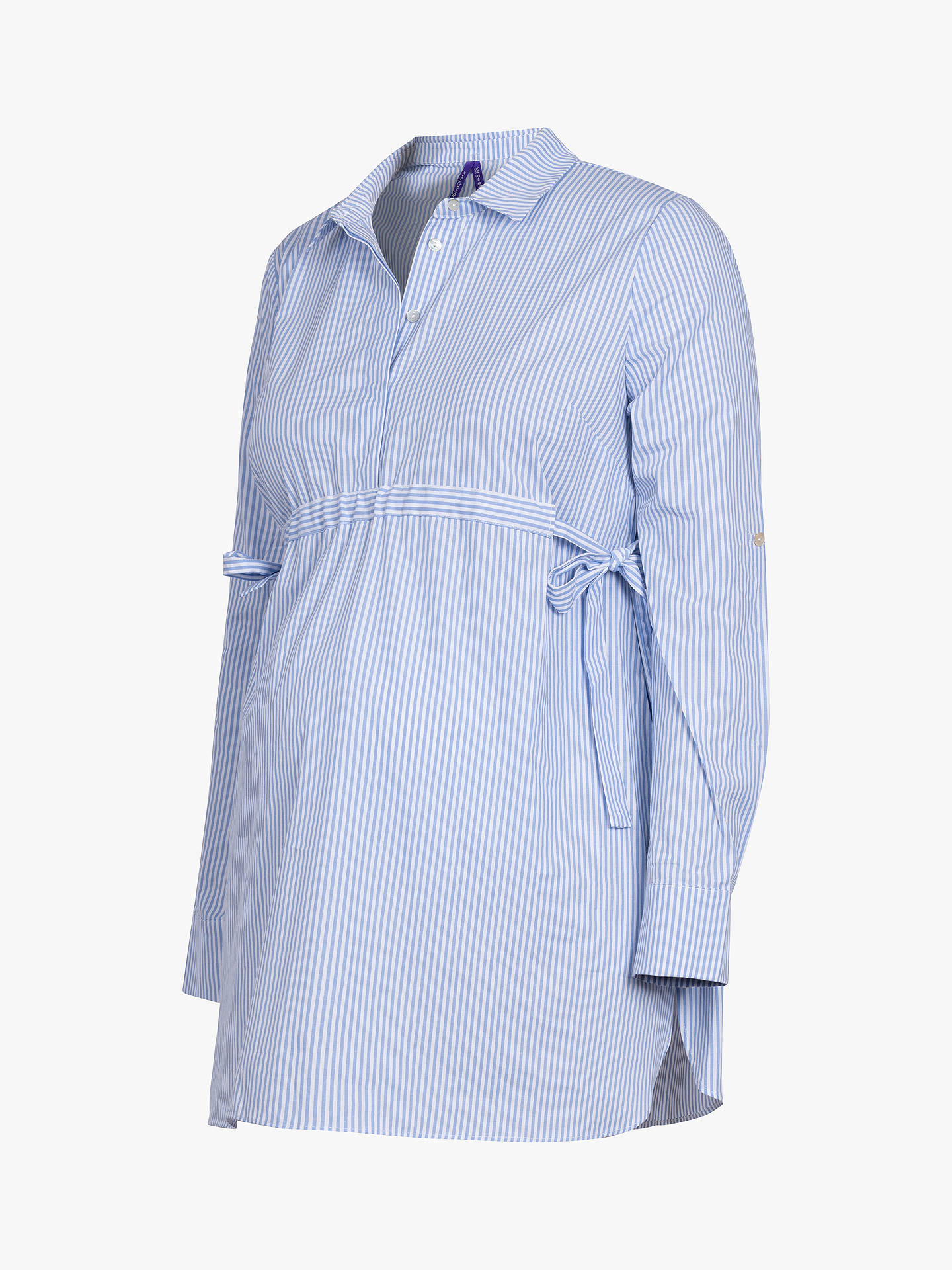 9ed11a9507eae Buy Séraphine Lovelle Stripe Maternity and Nursing Top, Blue/White, S  Online at ...