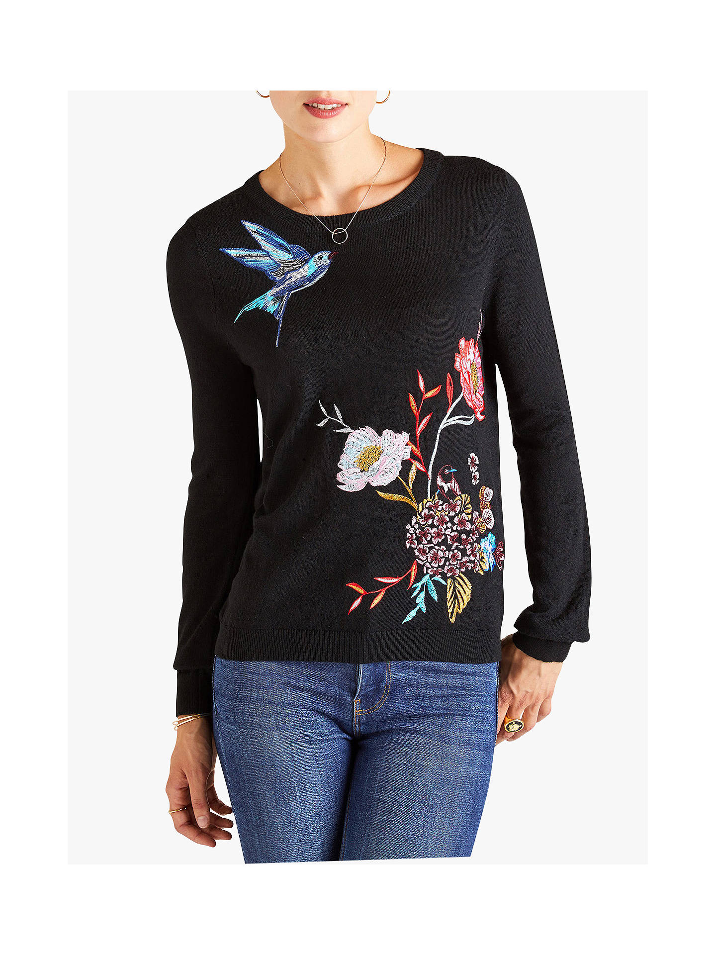 7d09d1e462d Buy Yumi Embroidered Jumper