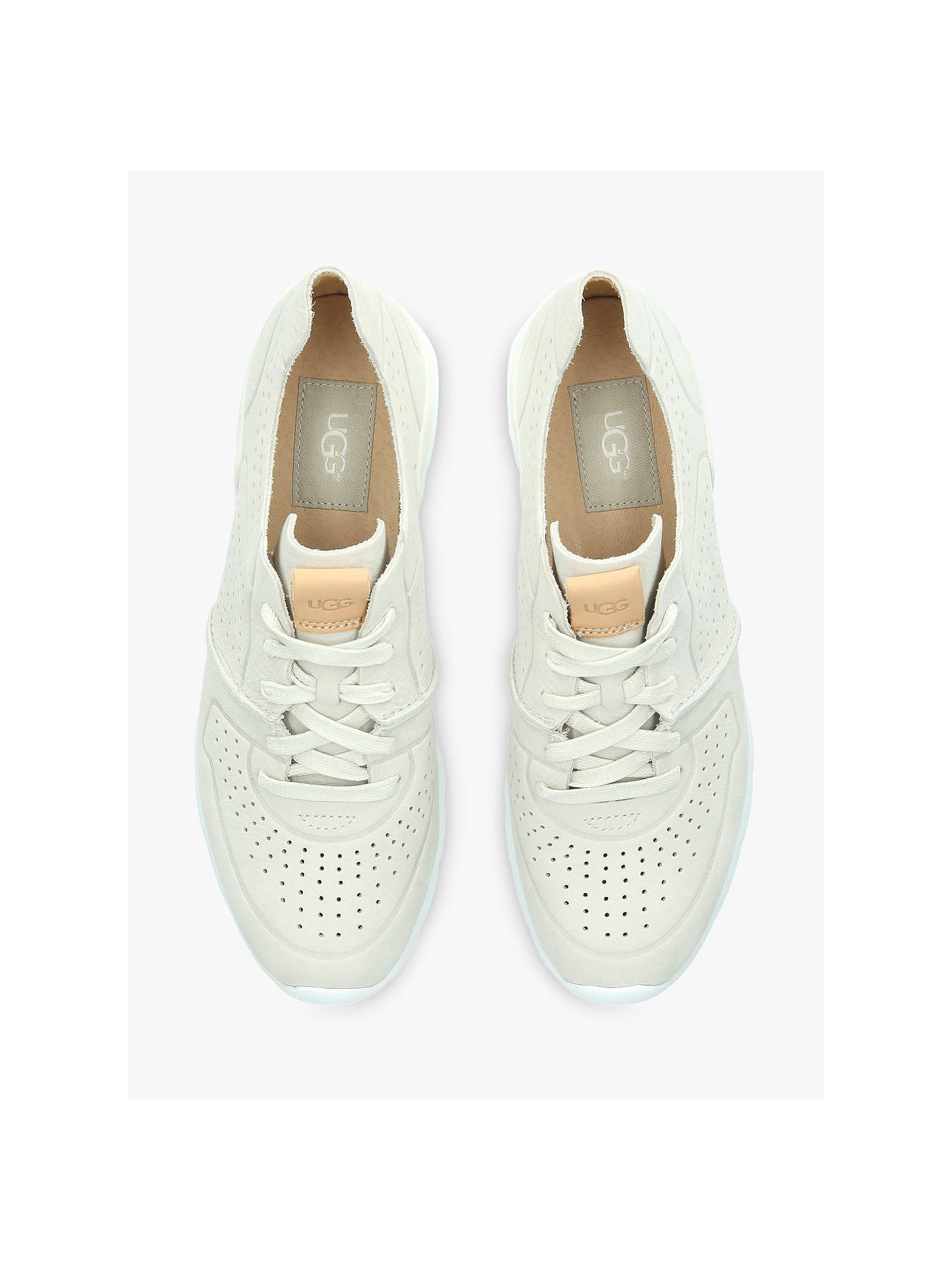 7ddabc3a0df UGG Tye Leather Lace Up Trainers at John Lewis & Partners