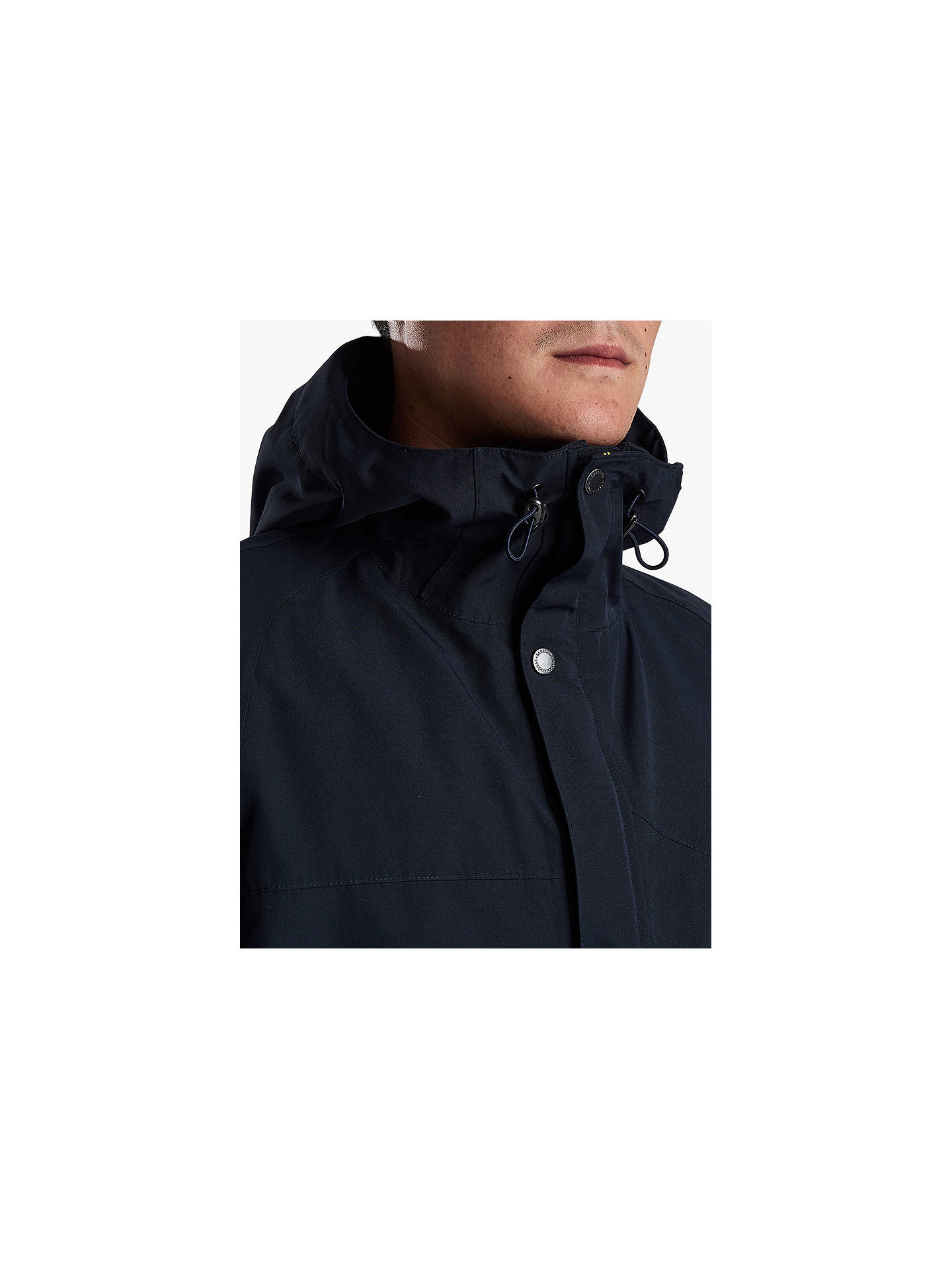 BuyBarbour International Ridge Waterproof Parka, Navy, M Online at johnlewis.com
