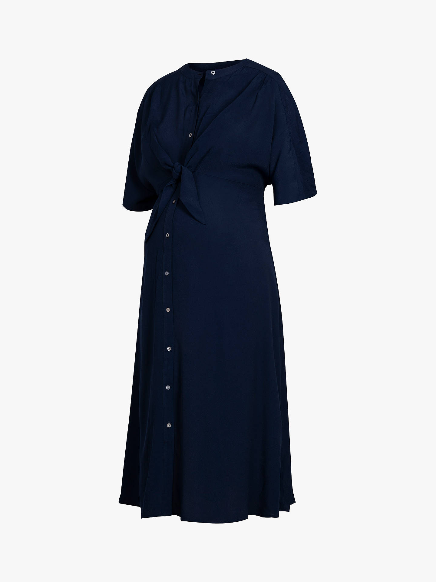 207b56ff ... Buy Séraphine Bitzy Shirt Maternity Dress, Navy, 8 Online at  johnlewis.com