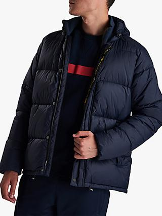 Barbour Busa Baffle Quilted Jacket, Navy