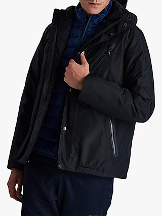Barbour International Core Waterproof Jacket, Navy